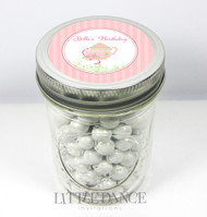 Custom & personalised mason jar birthday party favours - buy online Australia  - Tea Party theme