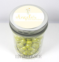 Personalised mason jar birthday party favours for sale online -Yellow Daisies theme