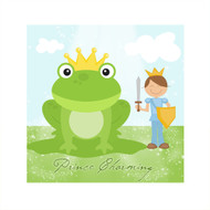Bedroom Wall Prince & Frog Canvas Art