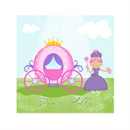 Girls Bedroom Wall Princess Canvas Art