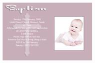 Pink Orthodox Baptism Naming and Christening Invitations. Australian online shop