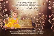 Fairy Birthday Party Invitations