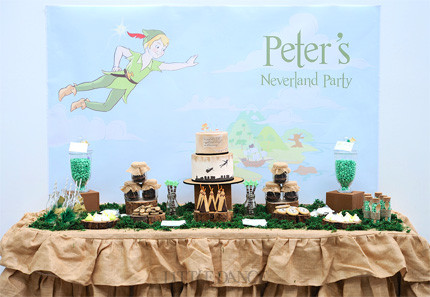 Personalised Peter Pan themed kids party invitations birthday – Neverland Party Invitations
