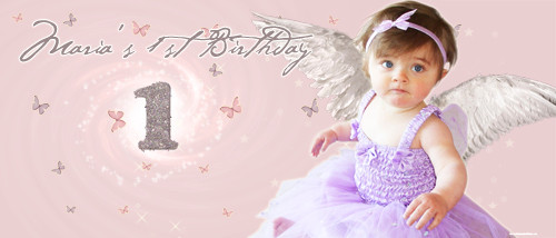 cheap-personalised-party-banners-online-fairy-angel-design