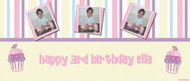 Party Banners - Cupcake Birthday Banner