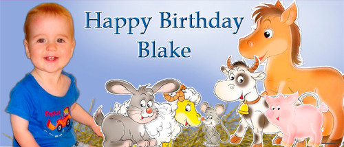 cheap-personalised-party-banners-online-farm-animals-blue-design