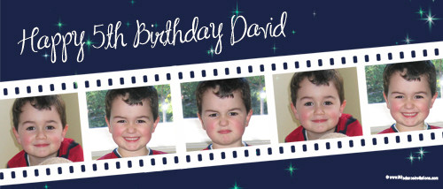 cheap-personalised-party-banners-online-movie-filmstrip-photo-banner