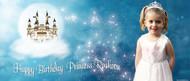 Princess & Castle Personalised Birthday Banner. Buy online in Australia