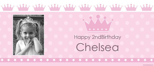 cheap-personalised-party-banners-online-princess-pony-party-design
