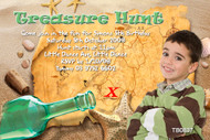 Treasure Hunt Birthday Party Invitation