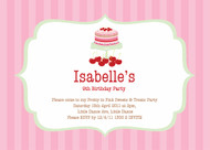 Sweet & Treats Party Invitation