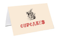 Mad Hatters Tea Party Personalised Place Cards, Name Cards, Buffet & Lolly jar cards
