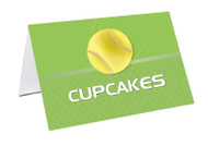 Tennis Party Personalised Place Cards, Name Cards, Buffet & Lolly jar cards