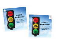 Traffic Light Party Personalised Party Stickers, Labels and Tags.