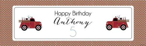 custom-themed-birthday-party-banners-for-kids-vintage-fire-engine-on