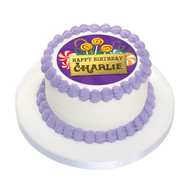 Birthday Cake Edible Image - Willy Wonka