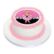 Glamour Pamper Party Personalised Birthday Cake Icing.
