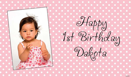 themed-kids-birthday-party-banner-online-pink-polka-dot-design