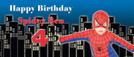 Spiderman Superhero Party Banners