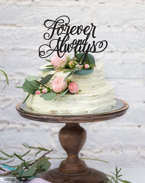 custom wedding & enagement forever and always order online in Wedding Cake Toppers Toowoomba wedding & engagement cake toppers wedding cake toppers toowoomba