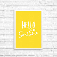 Hello Sunshine Wall Art Deco Print