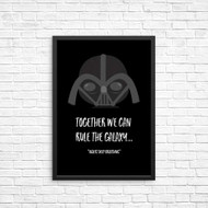 Darth Vader Star Wars We Can Rule the Galaxy Wall art Print