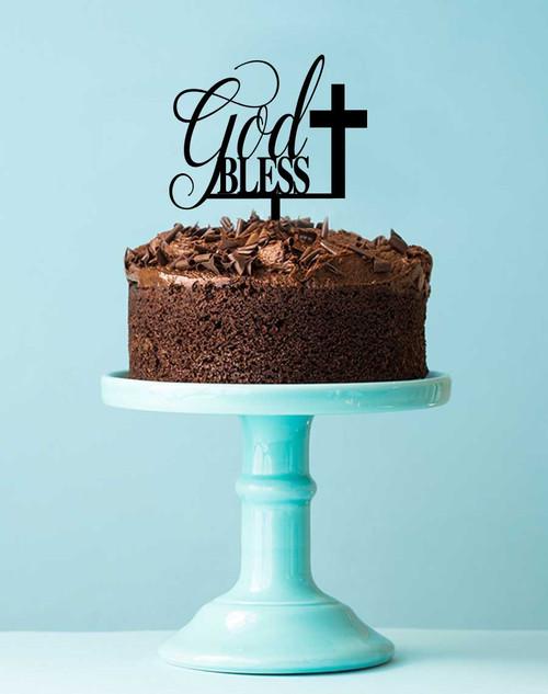 Cross Cake Topper Australia