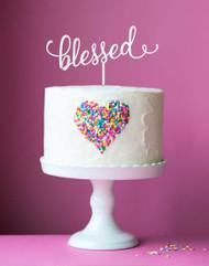 Blessed Cake Topper