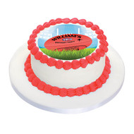 AFL Football Cake Icing