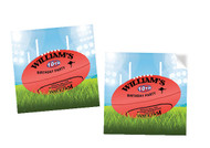 AFL Footbal Square Tags and Labels