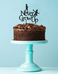 Peter Pan Never Grow Up Cake Topper