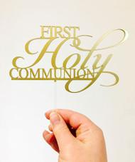 First Holy Communion #2 Cake Topper decoration