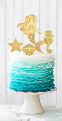 Mermaid Cake decorator kit