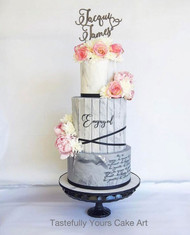 Beautiful custom wedding cake toppers