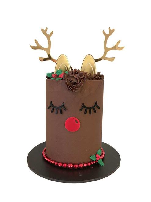 Reindeer Decorator Cake Kit