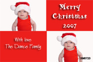 Merry Christmas - babies first Christmas card