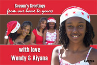 Personalised photo Festive Season cards online