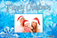 Affordable family Christmas photocards personalised online
