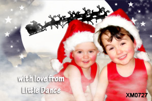 Personalised kids photo Seasons Greetings card for sale online