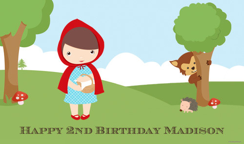 custom-backdrop-wall-poster-or-party-banner-little-red-riding-hood