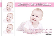 Babies First Birthday Party Invitations