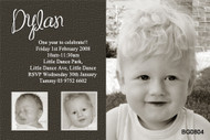 Baby Boys Birthday Party Invitations