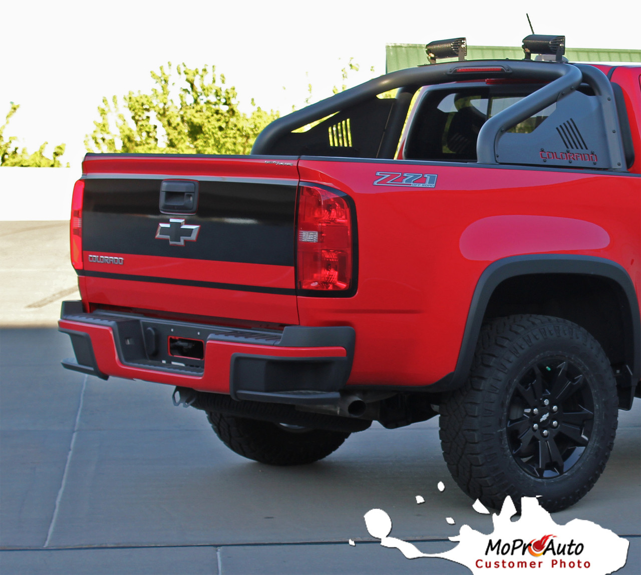 GRAND - Chevy Colorado Vinyl Graphics, Stripes and Decals Package by MoProAuto Pro Design Series