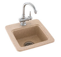 Swanstone BS 1515 Entertainment Sink   Solid Color