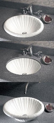 Swanstone TRI-1815IS Islandia Vanity Bowl - Solid Color