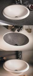 Swanstone TRI-1815HL Hilo Vanity Bowl - Aggregate Color