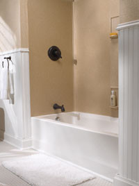 Swanstone Ss 60 5 Bathtub 5 Panel Wall Kit Solid Color
