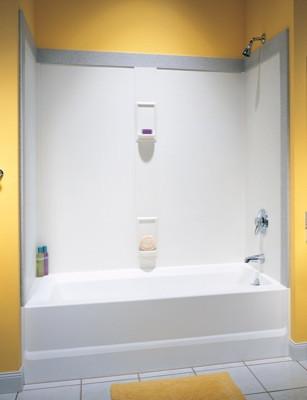 Swanstone SS-60-5 Bathtub 5-Panel Wall Kit - Solid Color - Swanstone ...