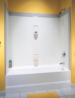 Swanstone Ss 60 5 Bathtub 5 Panel Wall Kit Aggregate