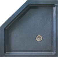 """Swanstone SS-36NEO Shower Floor 36"""" x 36"""" - Solid Color"""